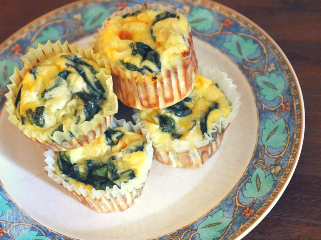Mini crustless spinach quiches baby led weaning ideas forumfinder Gallery