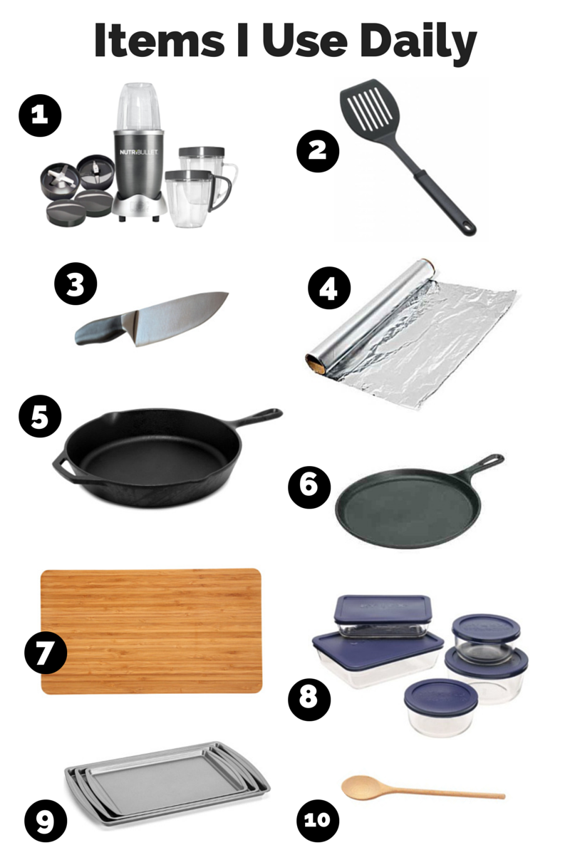 Off-Topic Tuesday: My Most-Used Kitchen Tools - Bethany King